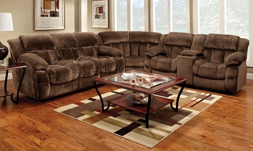 Fhf – Catalog – Champion Reclining Sectional With Farmers Furniture Sectional Sofas (View 6 of 10)