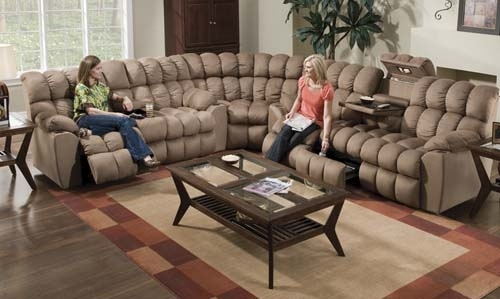 Fhf – Catalog – Super Reclining Sectional Inside Farmers Furniture Sectional Sofas (View 4 of 10)