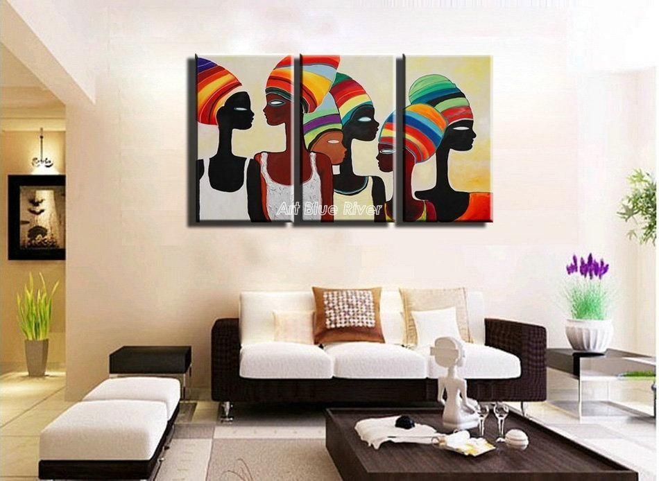 Find More Painting & Calligraphy Information About 3 Piece Acrylic Within Abstract Canvas Wall Art Iii (Image 8 of 20)