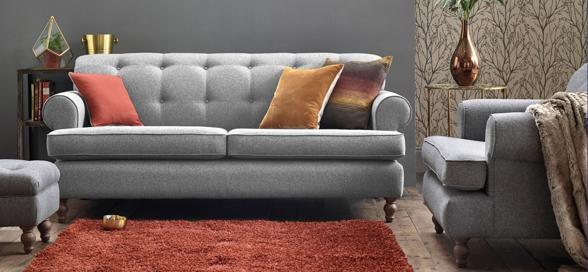 Find The Best Grey Sofa For Your Living Room | Sofasofa Within Mid Range Sofas (Image 7 of 10)