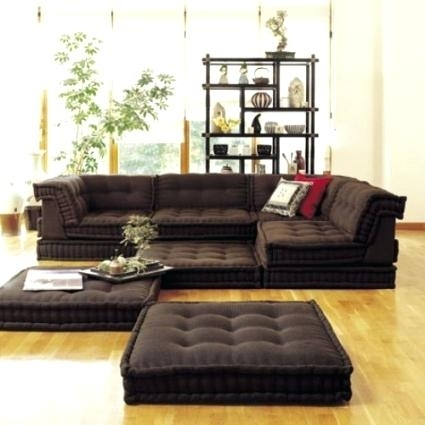 Floor Cushion Couch Sofa – Veneziacalcioa5 In Floor Cushion Sofas (Photo 8 of 10)