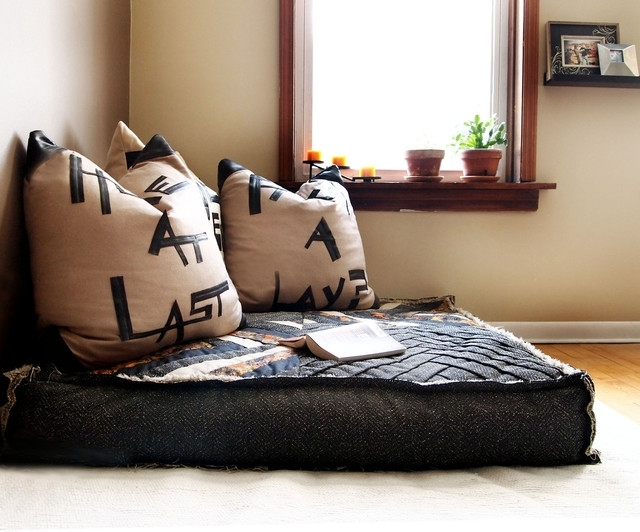Floor Cushion Couch | Superior Floor Cushions | Pinterest | Bedrooms Regarding Floor Cushion Sofas (Image 2 of 10)