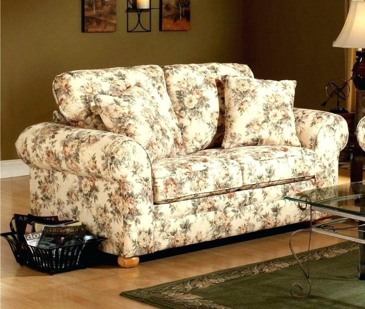 Floral Print Furniture Chintz Chairs Flower Sofa Couch Q With Sofas Inside Chintz Sofas (Image 8 of 10)