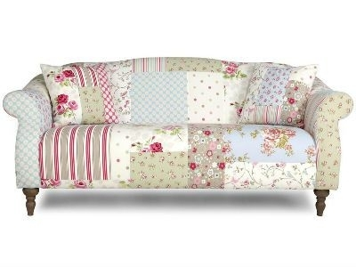 Floral Sofa Bed – Smart Furniture Pertaining To Floral Sofas And Chairs (Image 7 of 10)