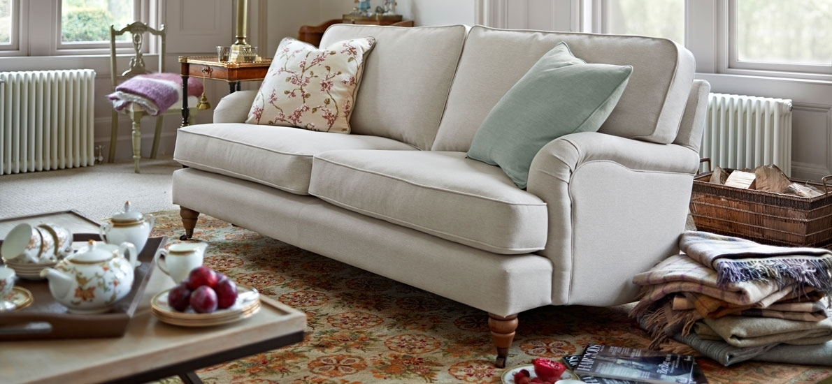 Florence – Best Sellers – 4 Seater Sofa – Armcaps (Pair) | Sofasofa Intended For Florence Sofas And Loveseats (Image 3 of 10)