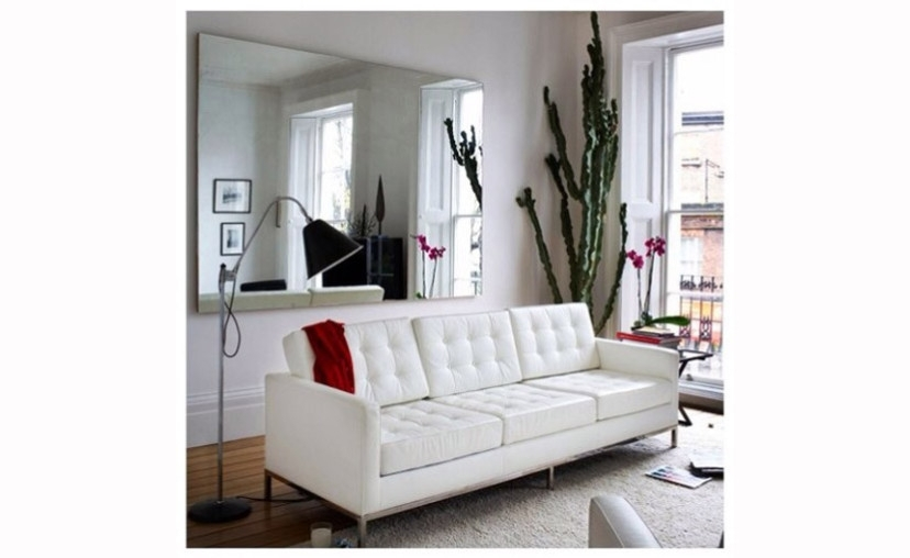Florence Knoll 3 Seater Sofa With Free Delivery (Image 2 of 10)