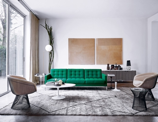 Florence Knoll Credenza | Knoll Within Florence Medium Sofas (Image 5 of 10)