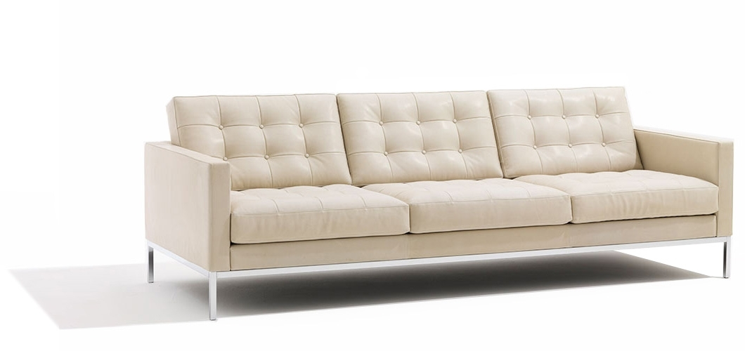 Florence Knoll Relaxed Sofa And Settee | Knoll With Regard To Florence Knoll Leather Sofas (Image 4 of 10)