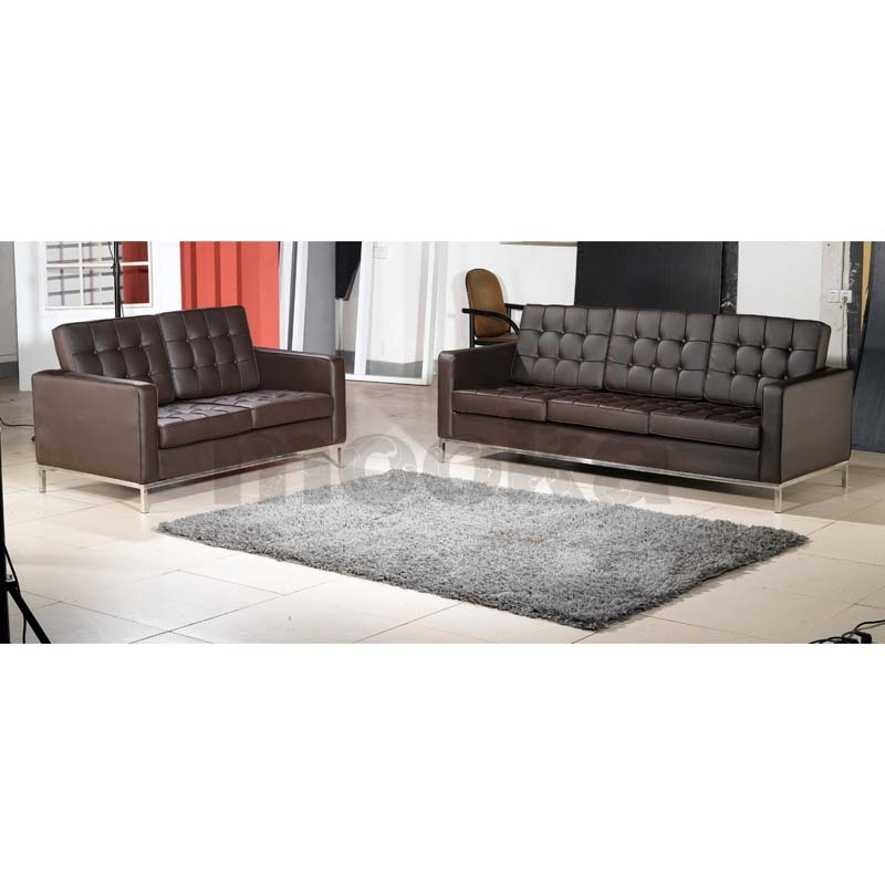 Florence Knoll Sofa 3 Seater Mooka Modern Furniture Regarding Florence Knoll 3 Seater Sofas (Image 7 of 10)