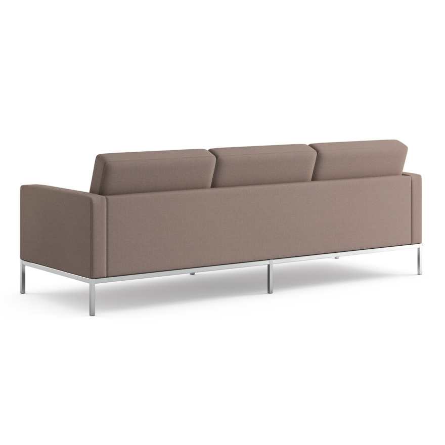 Florence Knoll Sofa | Knoll With Florence Knoll Wood Legs Sofas (Image 7 of 10)