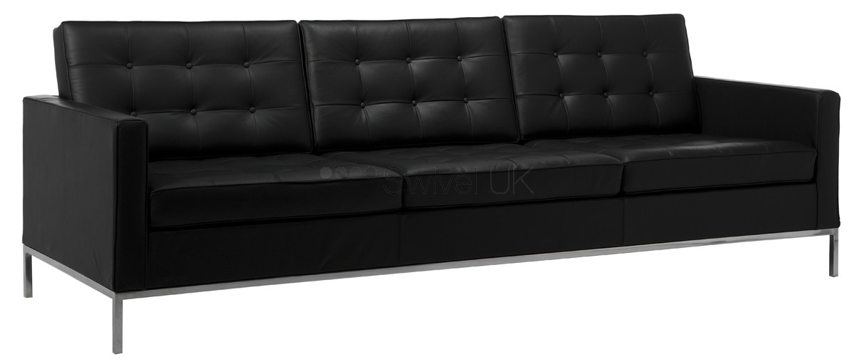 Florence Knoll Style | 3 Seater Sofa Style | Swiveluk Pertaining To Florence Knoll 3 Seater Sofas (Image 8 of 10)
