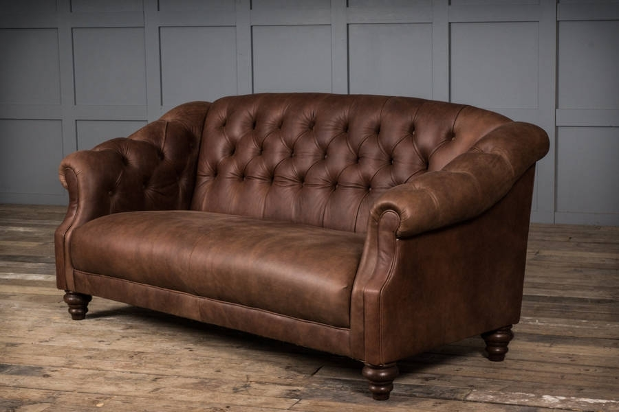 Florence Leather Sofa | Www (Image 8 of 10)