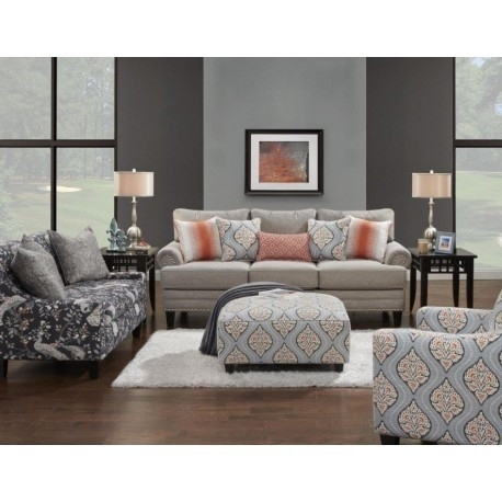 Florence Living Room Set | Sofa & Loveseat Groups | Exclusive Furniture In Florence Large Sofas (Image 9 of 10)