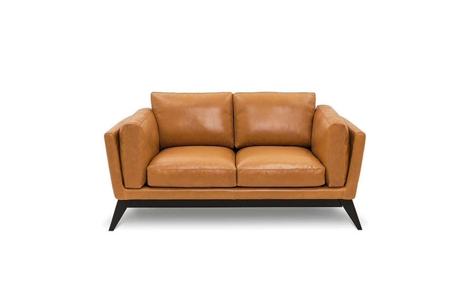 Florence Sofa 2 Seater – Bay Leather Republic For Florence Leather Sofas (Image 9 of 10)