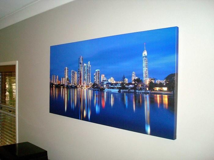 Featured Image of Gold Coast Canvas Wall Art