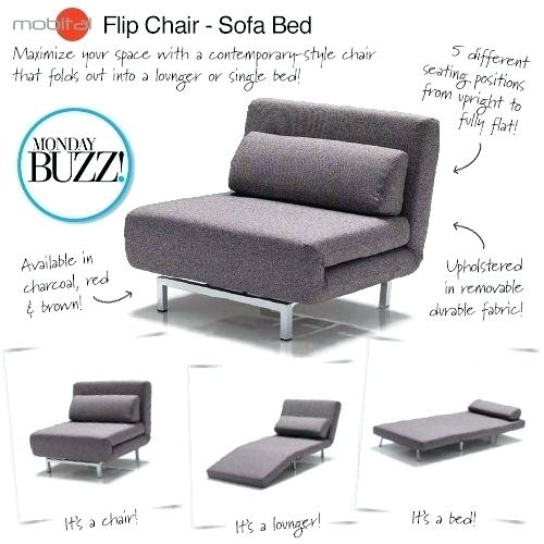 Foldable Sofa Chair – Wojcicki With Fold Up Sofa Chairs (Image 5 of 10)