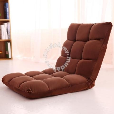 Foldable Tatami Comfortable Lazy Sofa Chair Seat – Home Appliances Pertaining To Lazy Sofa Chairs (Image 4 of 10)