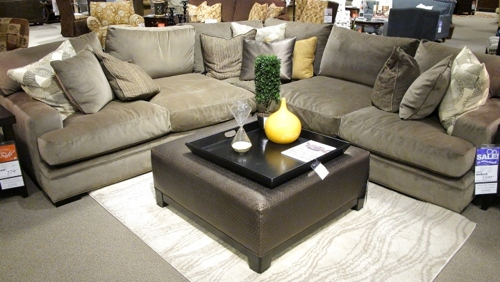 Fontaine Sectional Sofa So Comfy With 27Quot Deep Oversized Throughout Comfortable Sectional Sofas (Image 4 of 10)