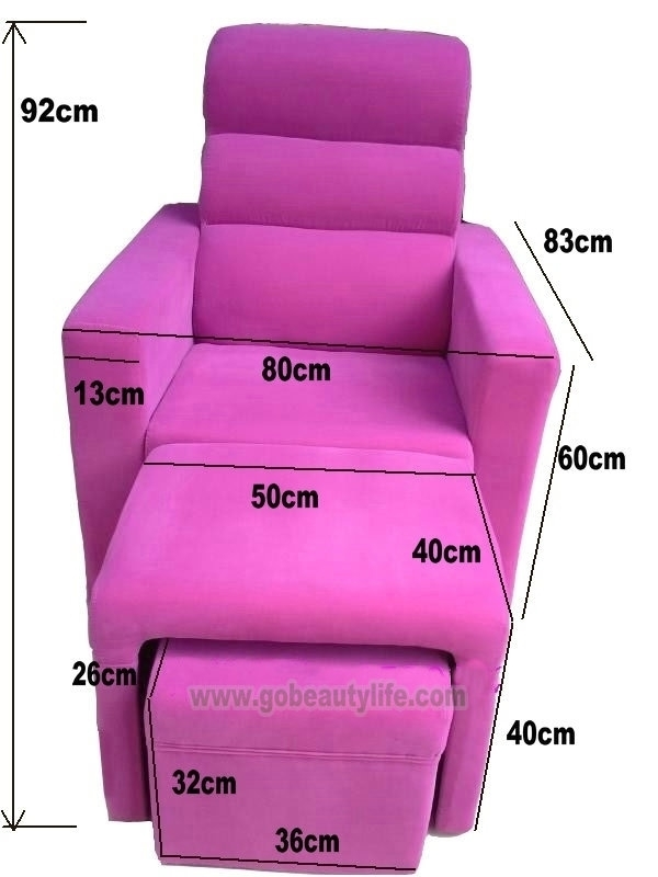 Foot Massage Sofa Bl I821_Beauty Life Salon Equipment Co., Ltd Pertaining To Foot Massage Sofas (Photo 8 of 10)