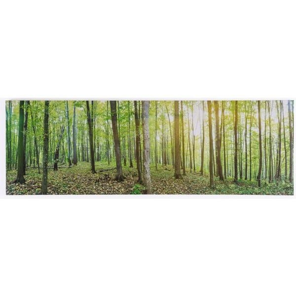 Forest Canvas Print Throughout Jysk Canvas Wall Art (Image 7 of 20)