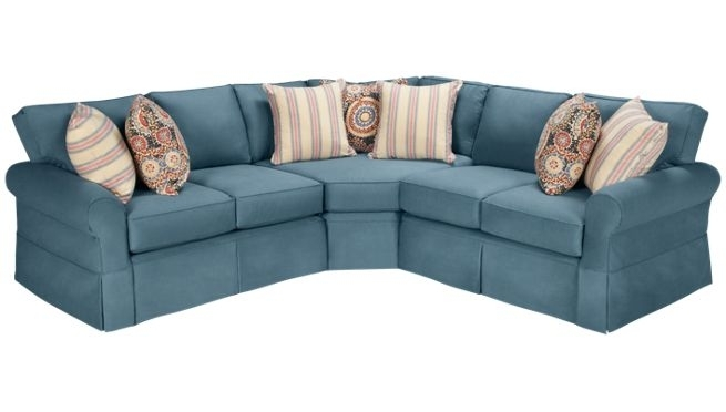 Four Seasons – Daniel – 3 Piece Sectional – Sectionals For Sale In In Nh Sectional Sofas (Image 7 of 10)