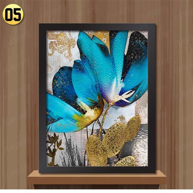 Framed Wall Art Canvas Painting Ethnic Pictures For Bedroom And Pertaining To Ethnic Canvas Wall Art (Image 11 of 20)