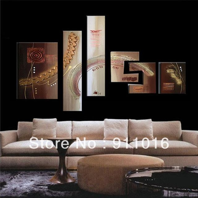 Wall art abstract metal wall art painting 17 of 20 photos for Best mural artist