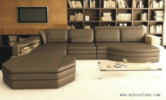 Free Shipping Coffee Color Sofa Set, Customized Color Size Home Within Customized Sofas (Image 8 of 10)