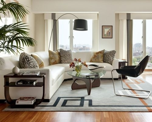 Fresh Interior Sectional Sofa With Side Tables Houzz Cozy Coffee For Pertaining To Houzz Sectional Sofas (Image 4 of 10)