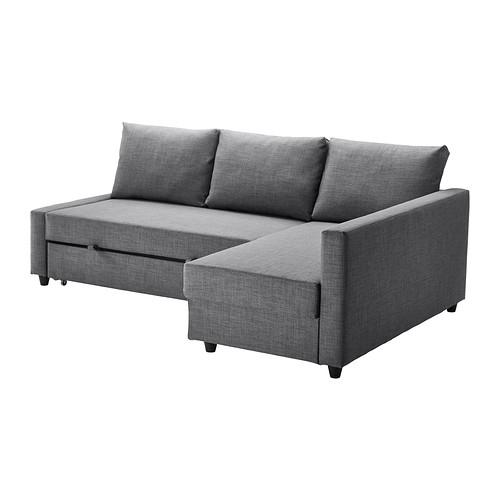 Friheten Sleeper Sectional,3 Seat W/storage – Skiftebo Dark Gray – Ikea For Ikea Sectional Sofa Beds (Image 3 of 10)