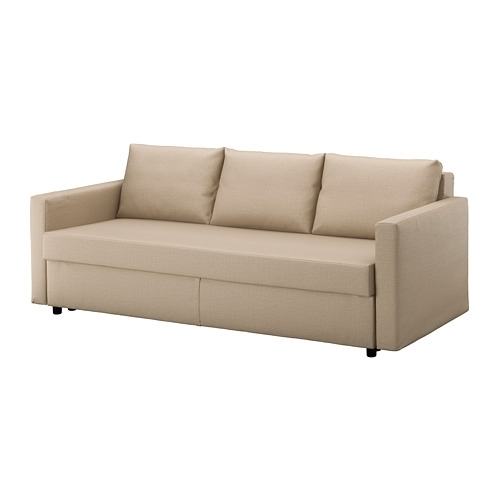 Friheten Sleeper Sofa – Skiftebo Beige – Ikea For Ikea Loveseat Sleeper Sofas (Image 2 of 10)