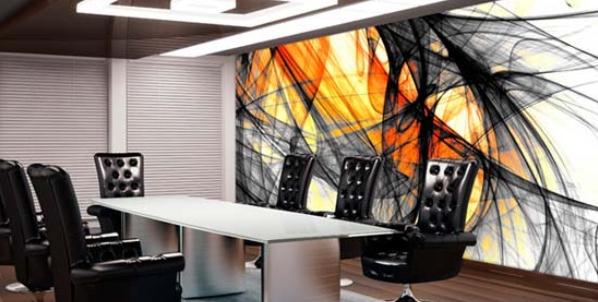 Funky Office Wall Art Design 3 | Office Wall Art | Pinterest Regarding Abstract Office Wall Art (View 3 of 20)