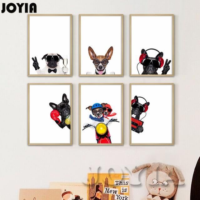 Topic Canvas Wall Art Dogs