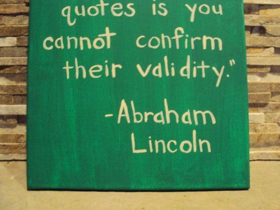 Funny Quote Canvas Art Quote Abraham Lincolngeewizzartwork Throughout Inspirational Quote Canvas Wall Art (View 16 of 20)