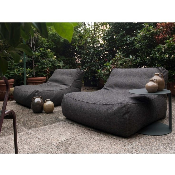 Furniture: Appealing Modern Outdoor Sponeck Lounging Chair Ideas Inside Outdoor Sofas And Chairs (Image 7 of 10)