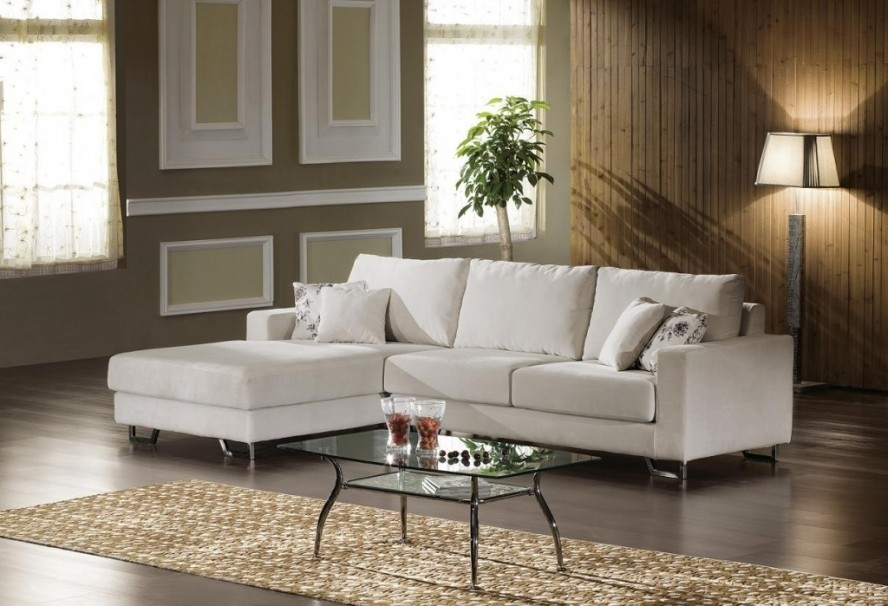 Furniture : Casual Small Sectional Sofa L Shaped Design With Chaise Within Living Spaces Sectional Sofas (Image 3 of 10)
