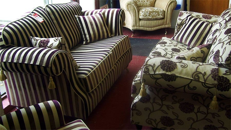 Furniture Sale | Furniture Showroom Clearance | Limerick | Munster For Striped Sofas And Chairs (Image 2 of 10)