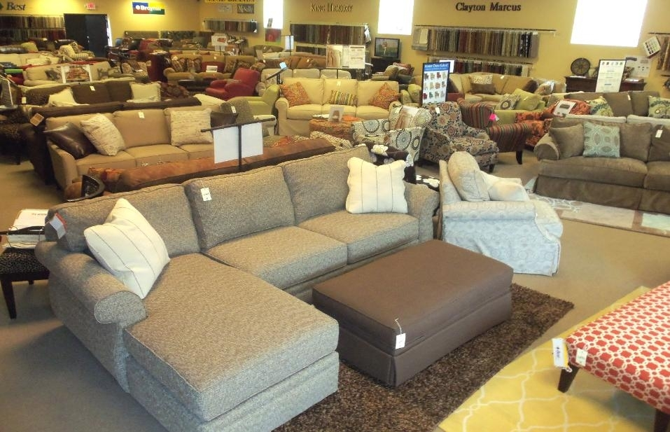 Furniture Stores In Birmingham, Al – Barnett Furniture Intended For Sectional Sofas At Birmingham Al (View 2 of 10)