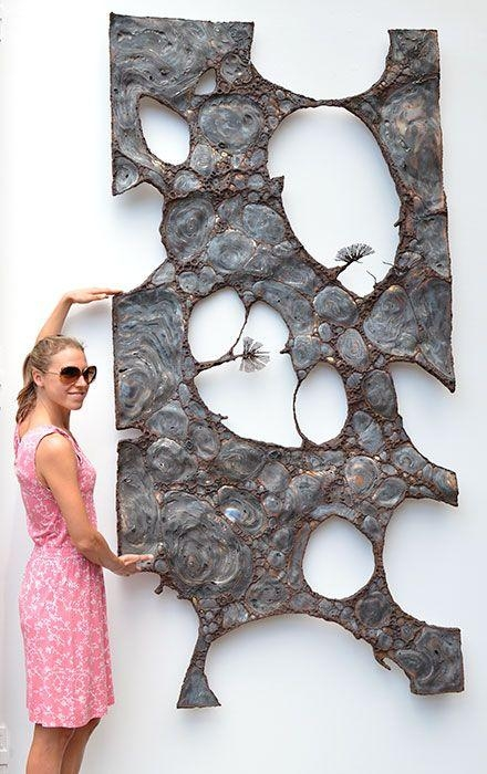 Gahr | Abstract Metal Wall Sculpture | Art | Pinterest | Wall Pertaining To Abstract Metal Sculpture Wall Art (Image 8 of 20)