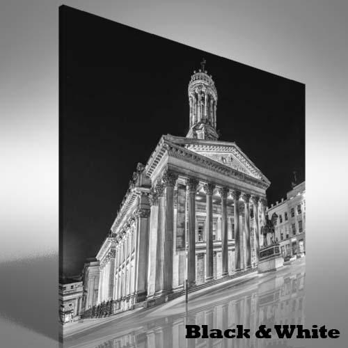 Featured Image of Glasgow Canvas Wall Art