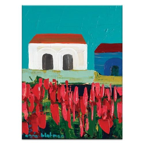 Geelonganna Blatman Art Print On Canvas | Temple & Webster Regarding Geelong Canvas Wall Art (Image 18 of 20)