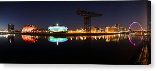 Glasgow Bridge Canvas Prints | Fine Art America Throughout Glasgow Canvas Wall Art (Image 6 of 20)