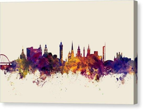Glasgow Canvas Prints | Fine Art America Within Glasgow Canvas Wall Art (Image 8 of 20)