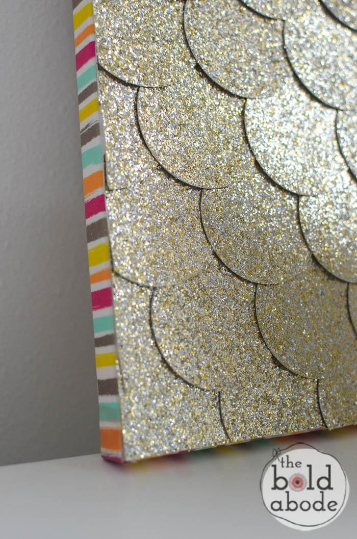 Glitter Dot Wall Art Inside Glitter Canvas Wall Art (Image 9 of 20)