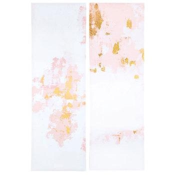 Gold & Pink Abstract Canvas Wall Decor | Hobby Lobby | 1470434 With Hobby Lobby Abstract Wall Art (Photo 2 of 20)