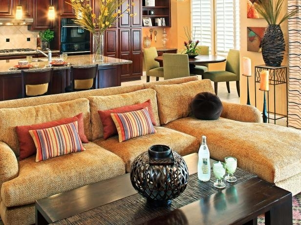 Gold Sectional Sofa – Home Design Ideas And Pictures Regarding Gold Sectional Sofas (View 10 of 10)
