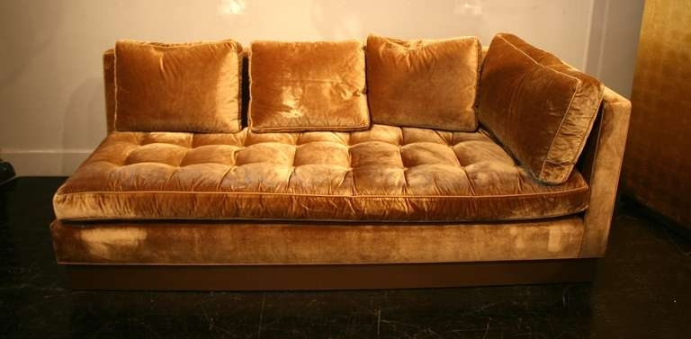 Gold Sectional Sofa – Home Design Ideas And Pictures With Gold Sectional Sofas (View 6 of 10)