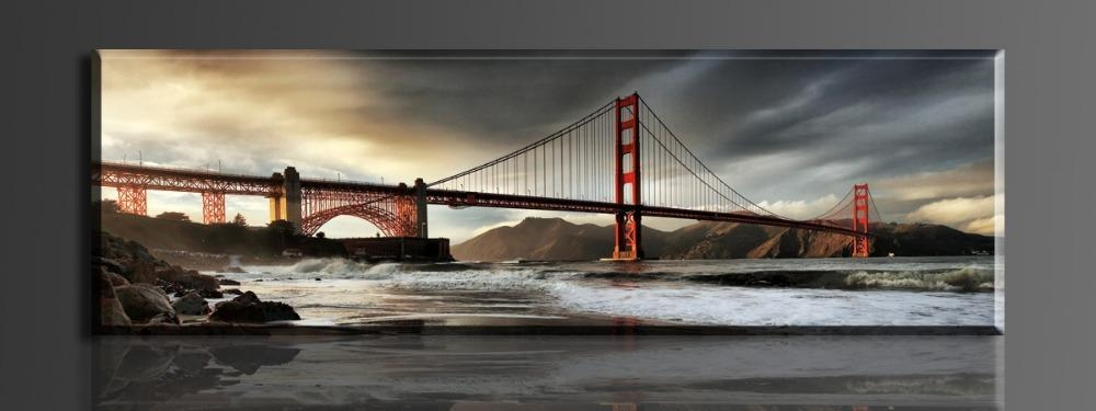 Featured Image of Golden Gate Bridge Canvas Wall Art