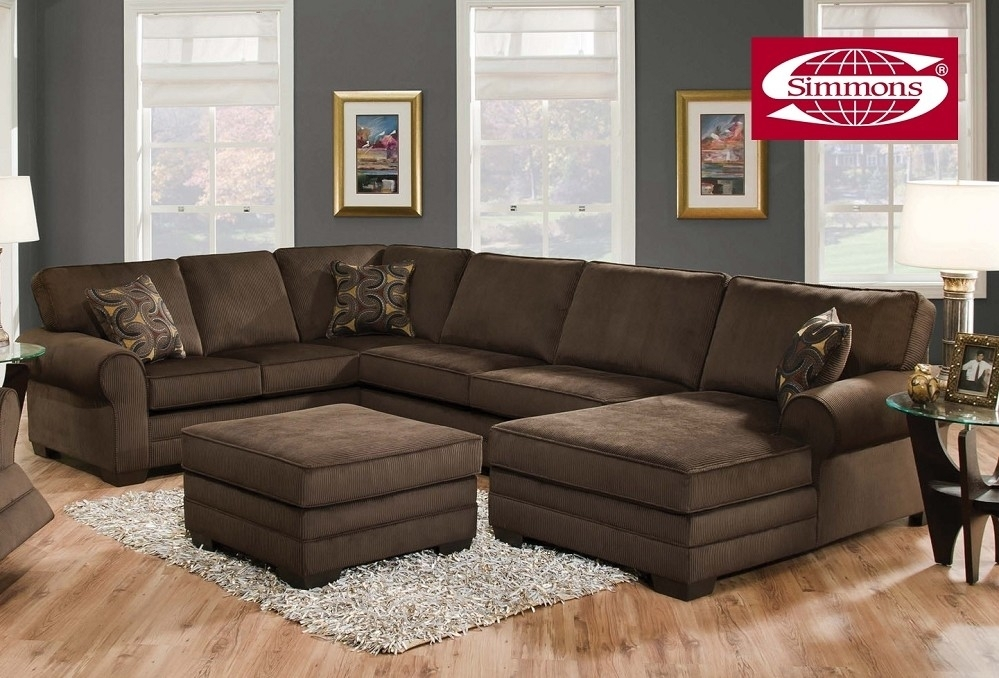 Good Plush Sectional Sofas 70 With Additional Sofa Table Ideas With Within Plush Sectional Sofas (Photo 2 of 10)