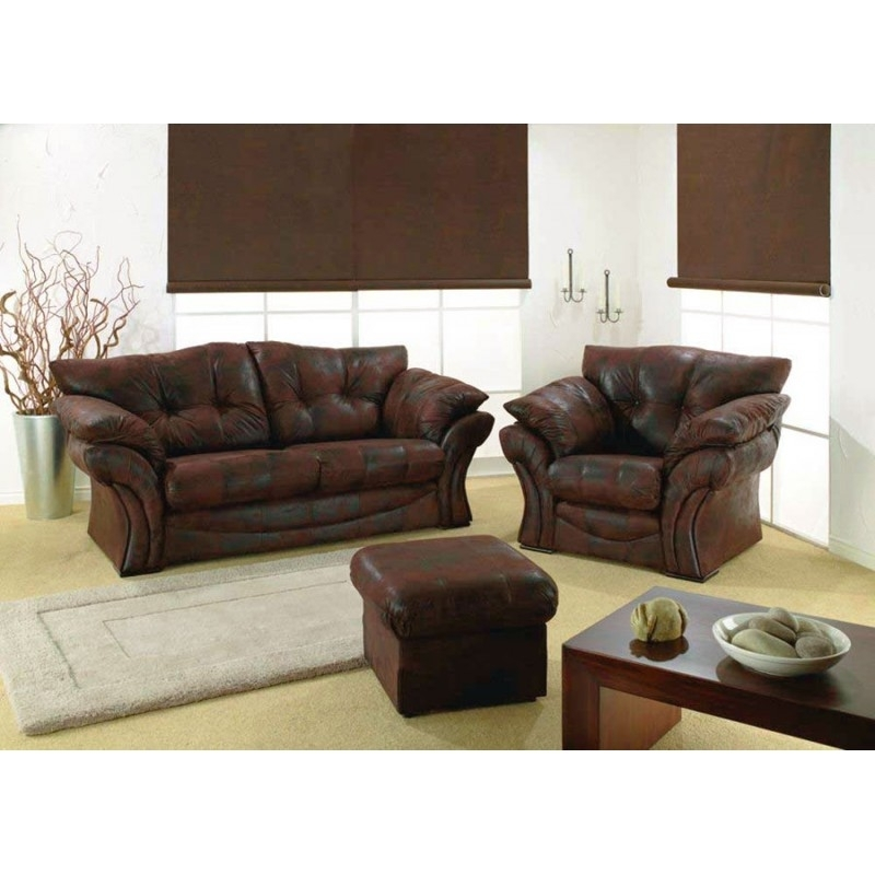 Grampian Furnishers | Florida 311 Fabric Sofa | Fabric Sofa Sale Inside 3 Seater Sofas And Cuddle Chairs (Photo 5 of 10)